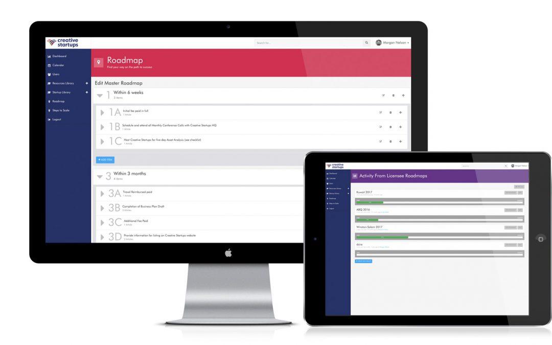 Creative Startups Resources Portal | Lead UX Designer