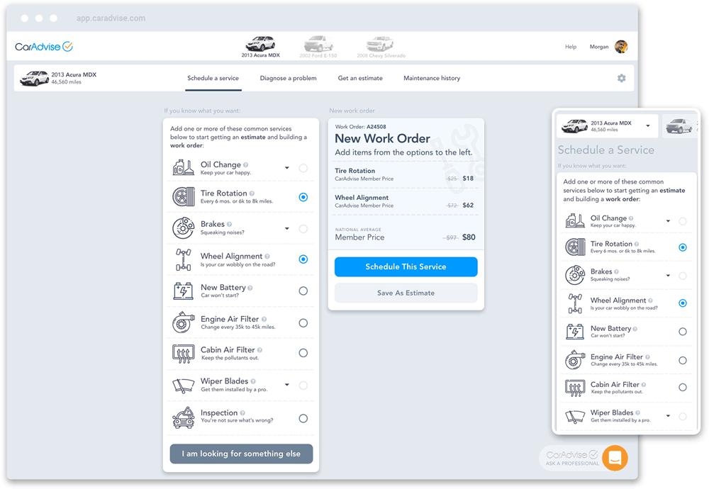 CarAdvise | Product Designer